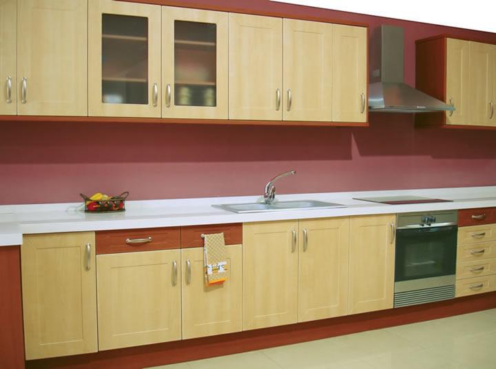 Material polilaminados o pvc para muebles de cocina for Material cocina