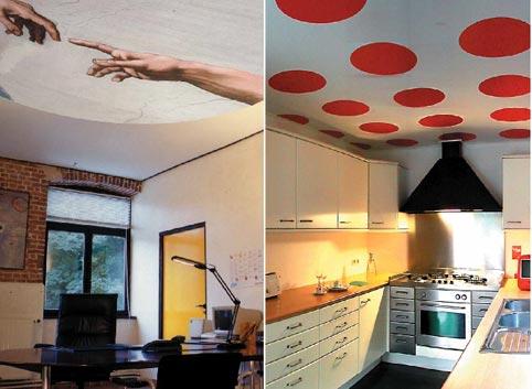 Decorar el techo de la cocina for Decoracion de techos de salas