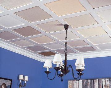 Decorar el techo de la cocina - Como pintar techos ...