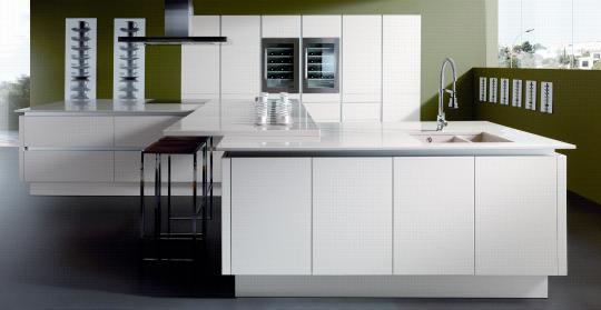 Los tiradores en los muebles de cocina - Tiradores de cocina modernos ...