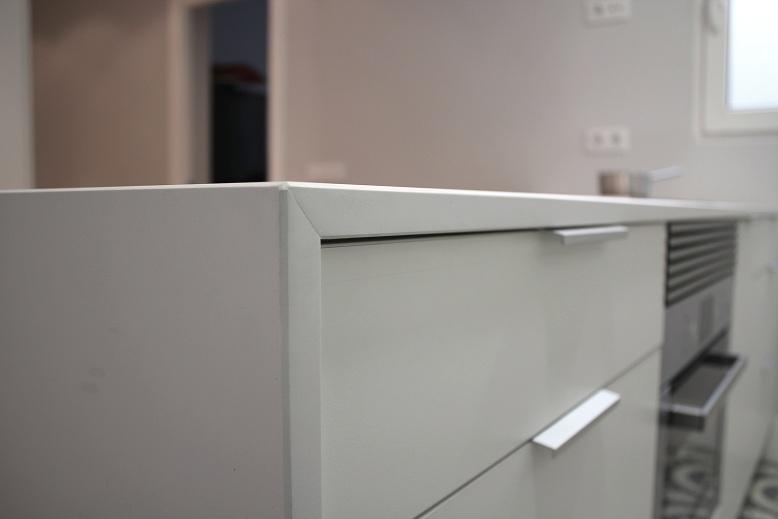 Los tiradores en los muebles de cocina for Tiradores para muebles de cocina
